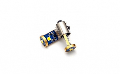 Led Auto Alb Canbus BAX9S 3 SMD 3030,
