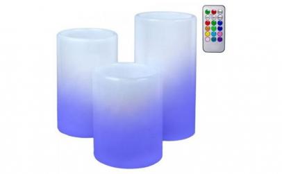 Set lumanari electrice cu LED / lumina