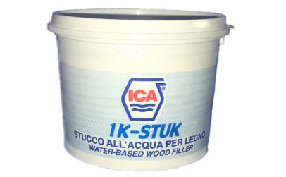 Chit pentru lemn, ICA, 1kg, alb