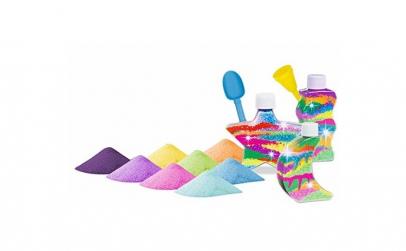 Joc cu sare colorata, Sand Creations