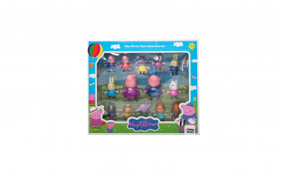 Set 14 figurine Peppa Pig