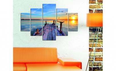 Set tablouri, 5 piese , Wallity , 92x56