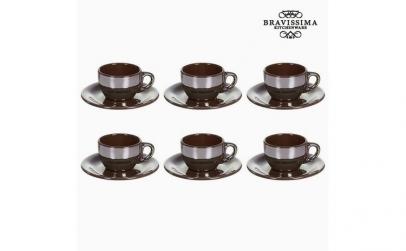 Set pentru Ceai Faianta Maro (12 pcs)