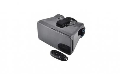Ochelari VR 3D cu telecomanda, negru