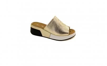 Papuci piele naturala dama Still