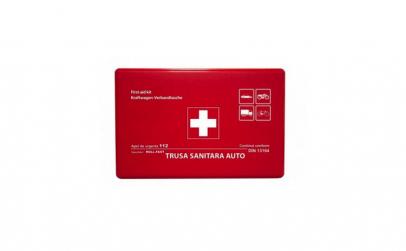 Trusa medicala auto pentru prim ajutor
