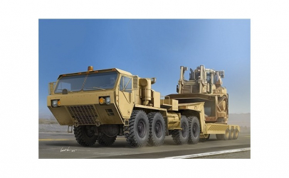 1:35 M983A2 HEMTT Tractor with M870A1
