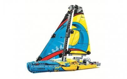 "Kit constructie ""Technica Yacht"", 330pcs"