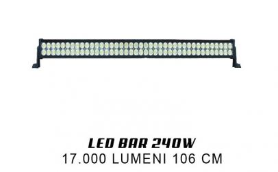 Bara LED Auto 240W, 17.000 lumeni