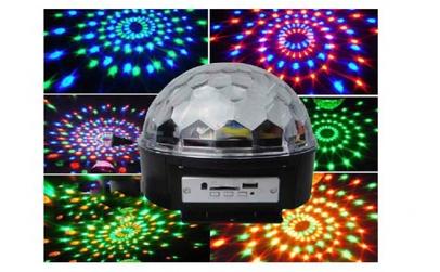 Globul disco cu boxe