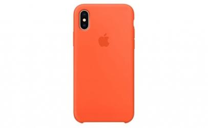 Husa iPhone XS Max, Silicon, Nectarine