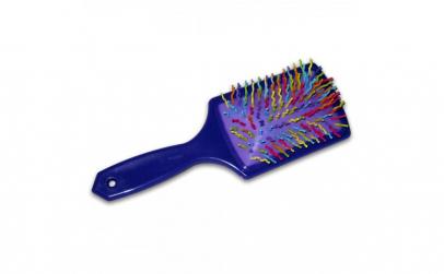 Perie pentru par plastic multicolora