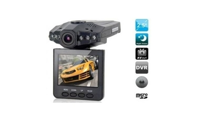 Camera video auto hd dvr + card 8gb