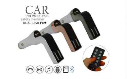 Modulator FM, Car kit Hands Free 8 in 1