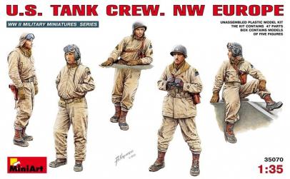 1:35 U.S. Tank Crew. NW EUROPE - 5