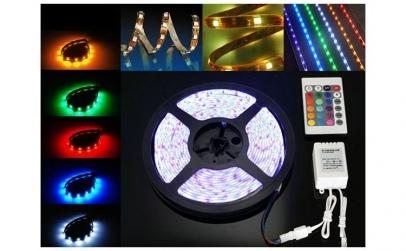 Banda led RGB siliconica 60 SMD-uri