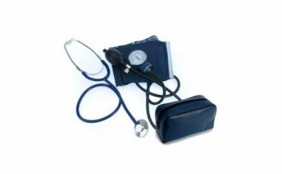 Tensiometru cu aneroid si stetoscop
