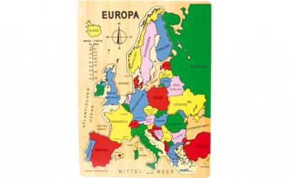 Puzzle din lemn  Europa
