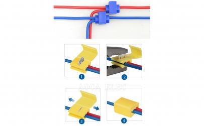 Conectori rapizi pentru auto, 0.5-6 mm2