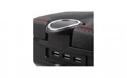 Cotiera auto universala cu USB-uri
