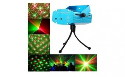 Mini aparat laser ce proiecteaza forme