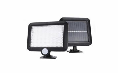 Lampa 56 LED cu alimentare solara