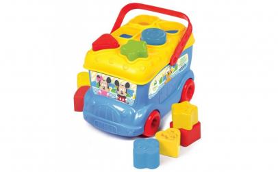Autobuz de sortat forme Mickey Mouse