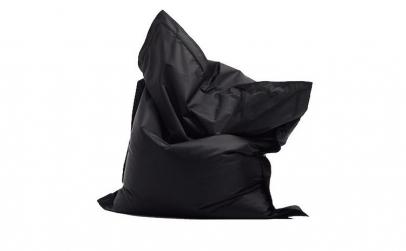 Fotoliu tip perna negru, 120x90cm