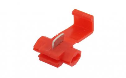 Terminal pentru imbinare cablu, rosu -