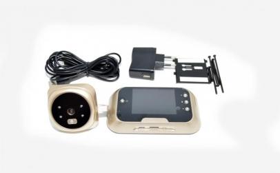 Vizor pentru usa cu camera si ecran LCD