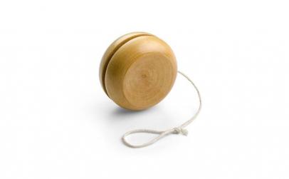 Yoyo din lemn natural