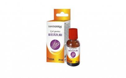 Gel pentru bătături Santaderm, 20 ml
