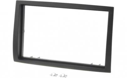 Rama adaptoare Peugeot, 2 DIN, neagra,