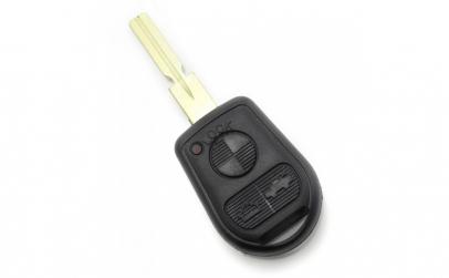 BMW   Carcasa cheie 3 butoane cu lama 4