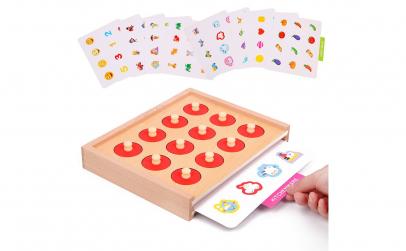 Joc din lemn Montessori Memory