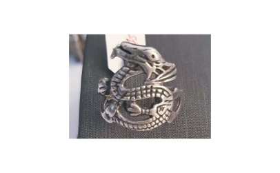 Inel din Argint - model Dragon