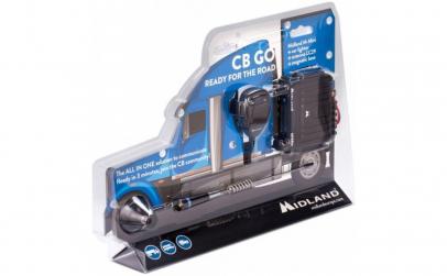 Kit Midland CB-GO Statie radio + antena