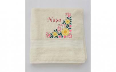 Prosop personalizat motiv floral dama