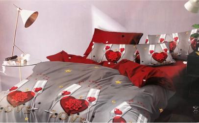 Set lenjerie de pat, 6 piese - bumac