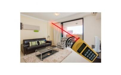 Ruleta laser cu ultrasunete