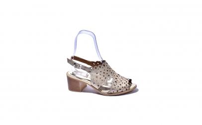 Sandale piele naturala dama Still,