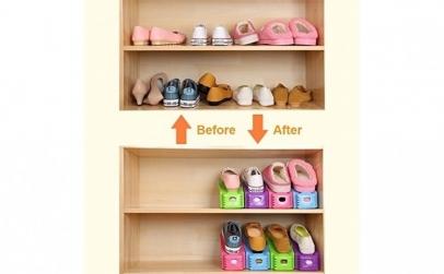 Organizator pantofi - set 6 bucati