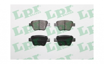 Set placute frana spate VW Golf 6
