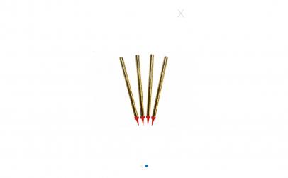 Artificii pentru tort, 4 bucati, 20 cm