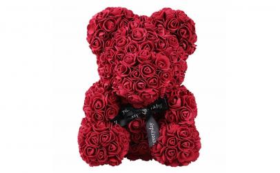 Ursulet  Rose Bear 40 cm visiniu