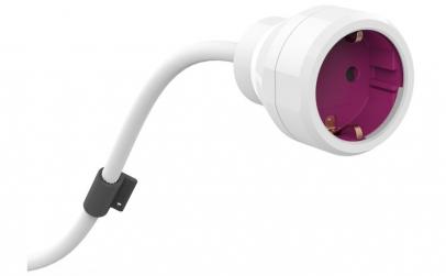 Cablu prelungitor 3m alb Power