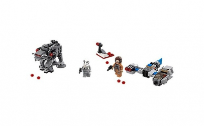 Lego Star Wars Ski Speeder contra