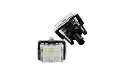 Set Lampi LED numar Mercedes W204