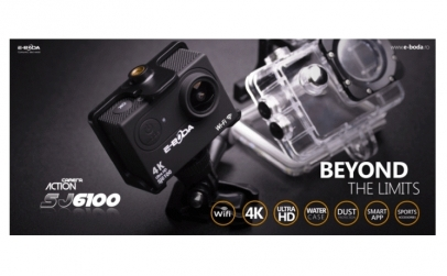 Camera video sport E-Boda 4K cu Wi-Fi