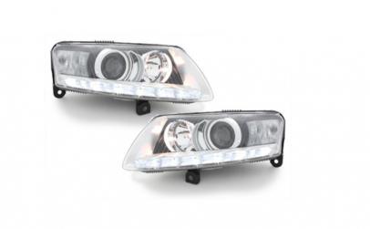 Set 2 faruri LED DRL Xenon